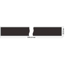 Бегущая строка Венера 160-192x8_P20-RGB