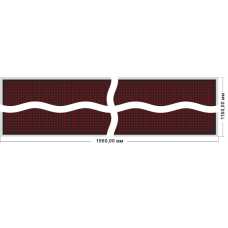 Бегущая строка Венера 1120-192x112