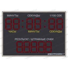 Электронное спортивное табло Электроника 7-0111