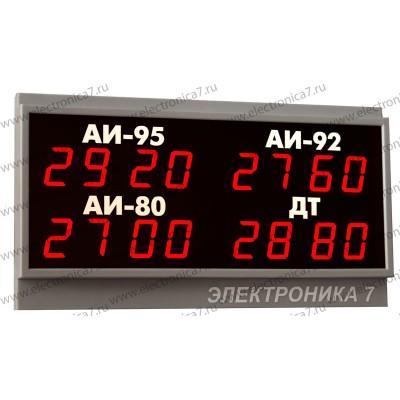 Табло для АЗС Электроника 7-3020