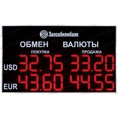 Табло валют Электроника 7-1210