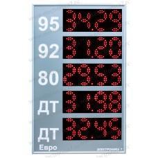Табло для АЗС Электроника 7-3110