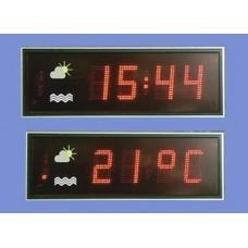 HMDT-19-LEDT2 Табло времени и температуры