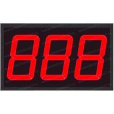 Электронное светодиодное табло электронной очереди Электроника 7-23110-4