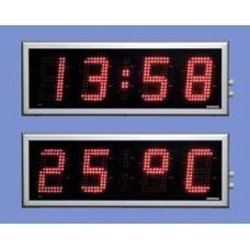 HMDT-19PW-LED Табло времени и температуры