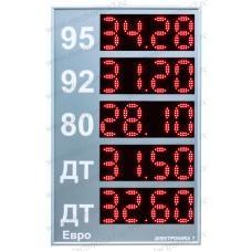 Табло для АЗС Электроника 7-3130