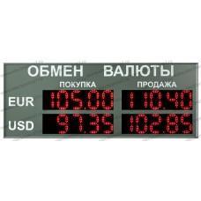 Табло валют Электроника 7-1110
