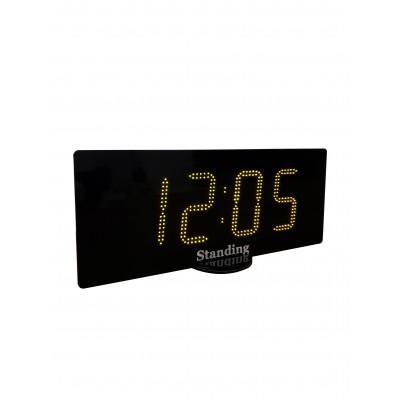 Часы вторичные электронные настенные Standing 114 с секундами