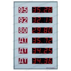 Табло для АЗС Электроника 7-3100