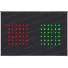 Электронное светодиодное табло электронной очереди Электроника 7-23120