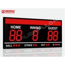 Табло для бейсбола Импульс-735-D35x5-S16x224xP10-S9