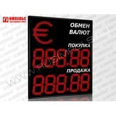 Символьное табло валют 5 разрядов Импульс-327-1x2xZ5-S35