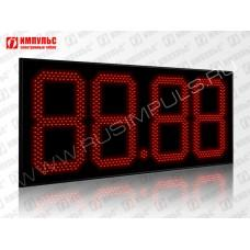 Табло цены топлива для АЗС Импульс-640-N28