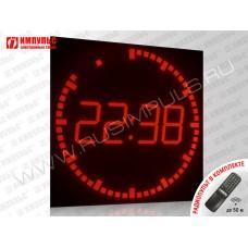 Фасадные уличные часы Импульс-4185R-D50-T