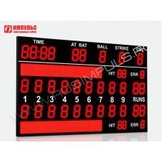 Табло для бейсбола Импульс-735-L2xD35x11-D35x9-L2xD24x3-L2xS32x256xP10
