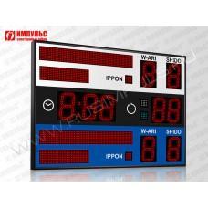 Табло для дзюдо Импульс-718-D18x9-L2xS8x64-L2xS8x32-S4