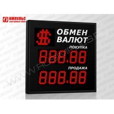 Символьное табло валют 5 разрядов Импульс-309-1x2xZ5-S11