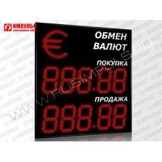 Символьное табло валют 5 разрядов Импульс-331-1x2xZ5-S35