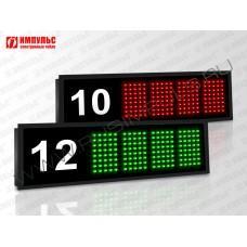 Табло оператора для вызова клиента Импульс-110-20x8xZ4-ETN