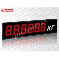 Табло для весовых систем Импульс-910-EURO-D10x6