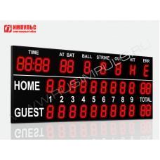 Табло для бейсбола Импульс-735-L2xD35x11-D35x11