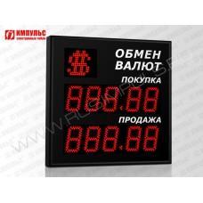 Символьное табло валют 5 разрядов Импульс-311-1x2xZ5-S11