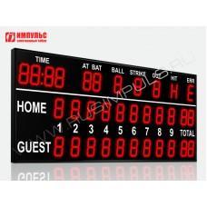 Табло для бейсбола Импульс-727-L2xD27x11-D27x11