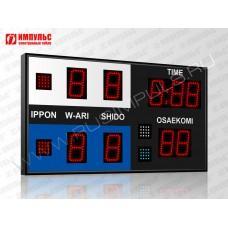 Табло для дзюдо Импульс-710-D10x9-S4