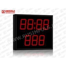 Табло для гиревого спорта Импульс-710-D10x7-SS3