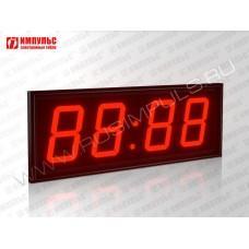 Табло для хоккея Импульс-710-EURO-D10x4-SS3-RING1