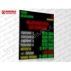 Светодиодный промышленный экран Импульс-900-160x192xP10-ETN