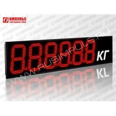 Табло для весовых систем Импульс-918-D18x6