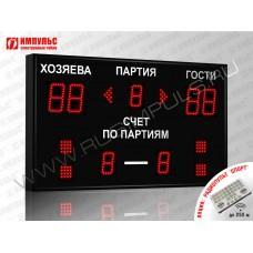 Табло для волейбола Импульс-710-D10x4-D8x3-S4-A2