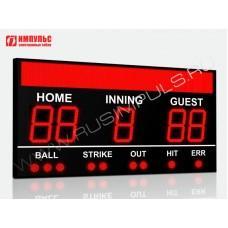Табло для бейсбола Импульс-750-D50x5-S32x288xP10-S9