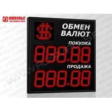 Символьное табло валют 5 разрядов Импульс-321-1x2xZ5-S21