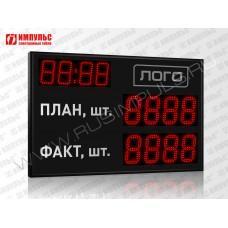 Табло производственных показателе Импульс-913-L2xD13x4-D10x4