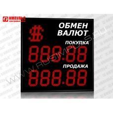 Символьное табло валют 5 разрядов Импульс-315-1x2xZ5-S15
