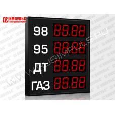 Прикассовые табло АЗС Импульс-608-4x1