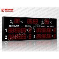 Табло для плавания Импульс-710-D10x8-L4xD10x7-T-T2