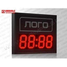Часы c логотипом Импульс-413M | V