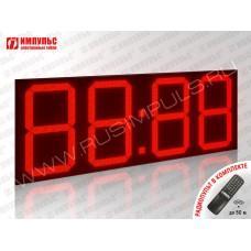 Фасадные уличные часы Импульс-4160N-T