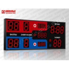Табло для самбо Импульс-713-D13x11-D8x3-D6x6-S2-P1