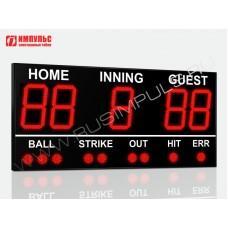 Табло для бейсбола Импульс-750-D50x5-S9