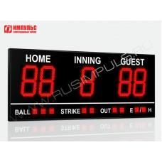 Табло для бейсбола Импульс-727-D27x5-S9