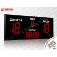 Табло для футбола Импульс-731-D31x4-D18x5