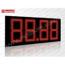 Табло цены топлива для АЗС Импульс-633-N21