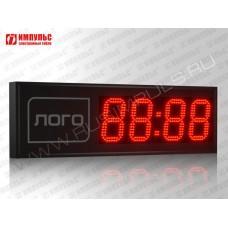 Часы c логотипом Импульс-415M | L