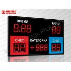 Табло для бокса Импульс-710-D10х9-D8x3-P1