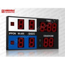 Табло для дзюдо Импульс-715-D15x9-S4