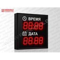 Часы-календарь Импульс-406K-D6-D6